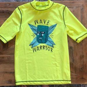 Boys Cherokee swim shirt. L 12-14